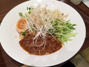 台湾風炸醤麺
