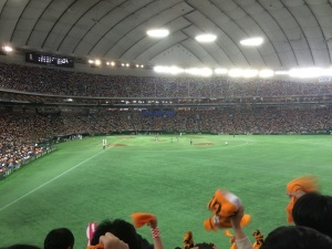 東京ドームへ