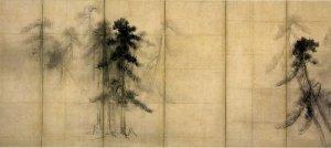 松林図屛風