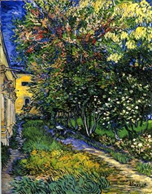 サン=レミの療養院の庭